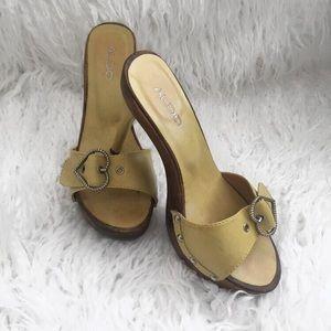Aldo   Lime Green heels